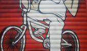 Trail Walk GRENOBLE - street art Championnet - Photo 7