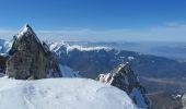 Trail Nordic skiing MONTGELLAFREY - Col de la Flachère à ski - Photo 1