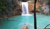 Randonnée Marche SALERNES - Salernes la cascade - Photo 2