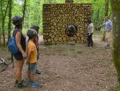 Point d'intérêt Somme-Leuze - L'Artbri cuubique Oeuvre Abri artistique Sentiers d'art  - Photo 1